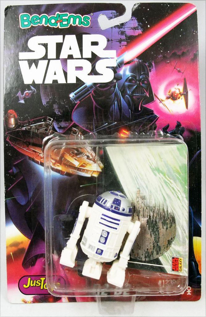 Star Wars (Bend-Ems) - Figurine Flexible JusToys (1993) - R2-D2