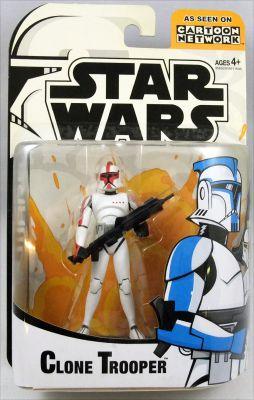 Star Wars 2003 Special Figure Clone Trooper Loose /& Complete