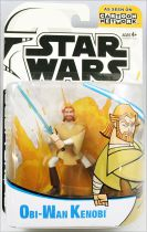 Star Wars (Cartoon Network Clone Wars) - Hasbro - Obi-Wan Kenobi