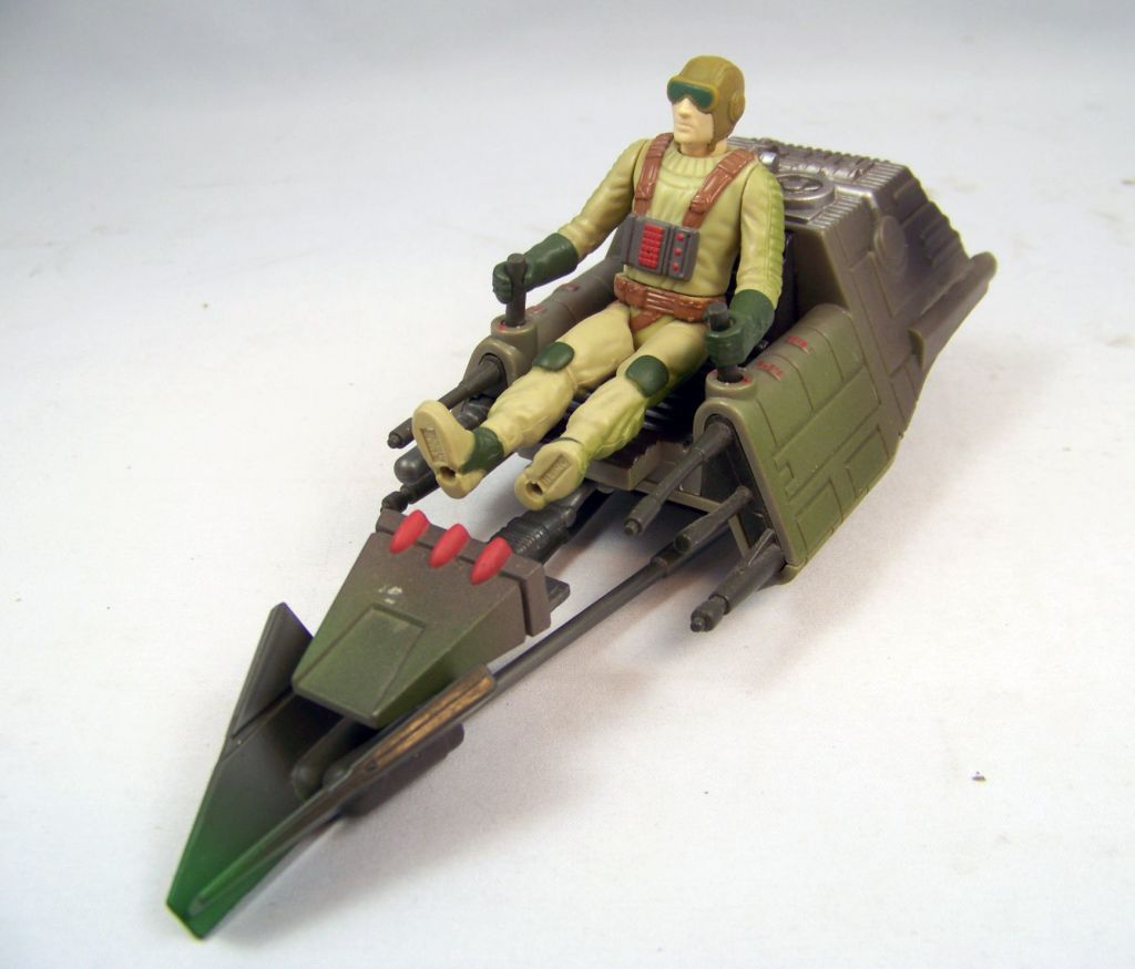 Star Wars (Expanded Universe) - Kenner - Speeder Bike (Concept) occasion 02