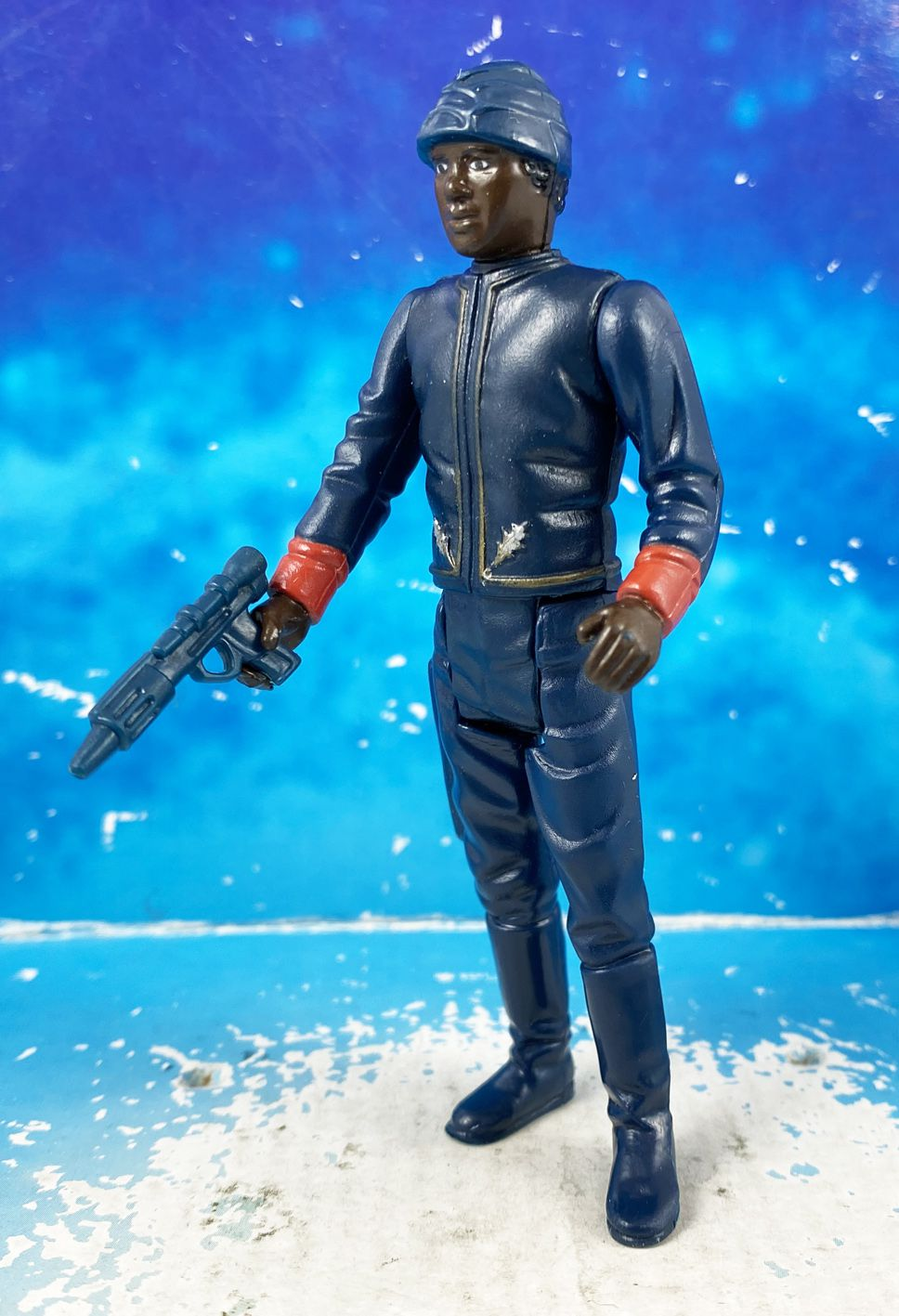 Star Wars (L\'Empire contre-attaque) - Kenner - Bespin Security Guard (Noir)