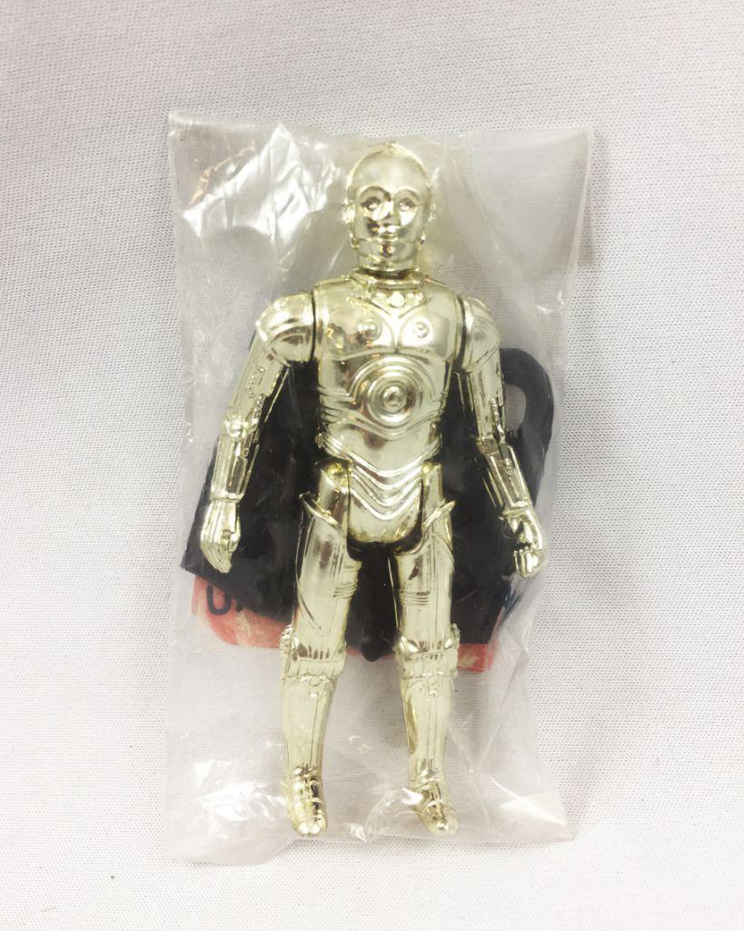 "Star Wars (L\'Empire Contre-Attaque) - Kenner - C-3PO Removable Limbs - Baggie \""Echantillon Gratuit\"" Made in Macau"