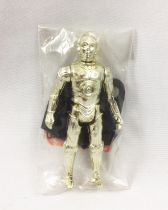 "Star Wars (L\'Empire Contre-Attaque) - Kenner - C-3PO Removable Limbs - Baggie ""Echantillon Gratuit\"" Made in Macau"