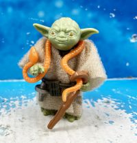 Star Wars (L\'Empire contre-attaque) - Kenner - Yoda (Serpent Orange)