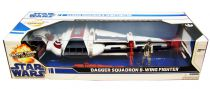 Star Wars (Legacy Collection) - Hasbro - Dagger Squadron B-Wing Fighter (includes Lt. Pollard pilot)