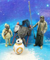 Star Wars (Loose) - Kenner/Hasbro - BB-8, Unkar\'s Thug and Jakku Scavenger