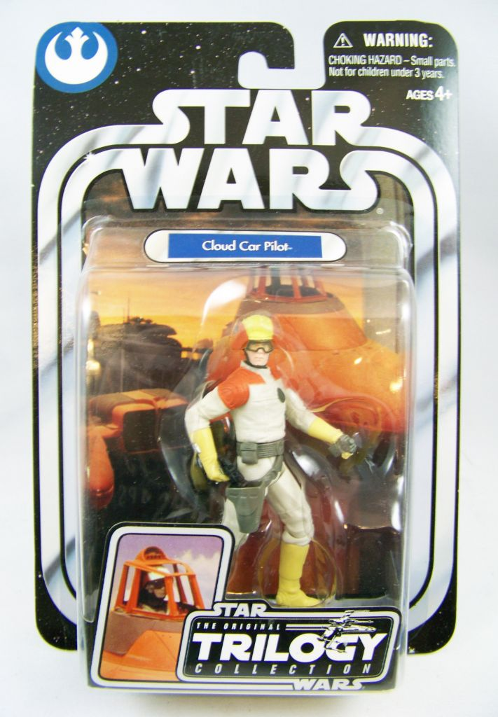Star Wars The Original Trilogy Cloud Car Pilot Action Figure Hasbro 2004