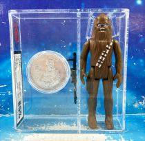 Star Wars (POTF) - Kenner - Chewbacca w/Collector Coin (UK Graders 85%)