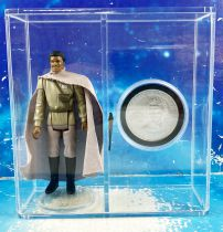 Star Wars (POTF) - Kenner - Lando Calrissian General Pilot w/Display Case