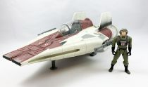Star Wars (POTF2) - Kenner - A-wing Fighter & Pilot (occasion)