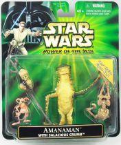 Star Wars (Power of the Jedi) - Hasbro - Amanaman avec Salacious Crumb