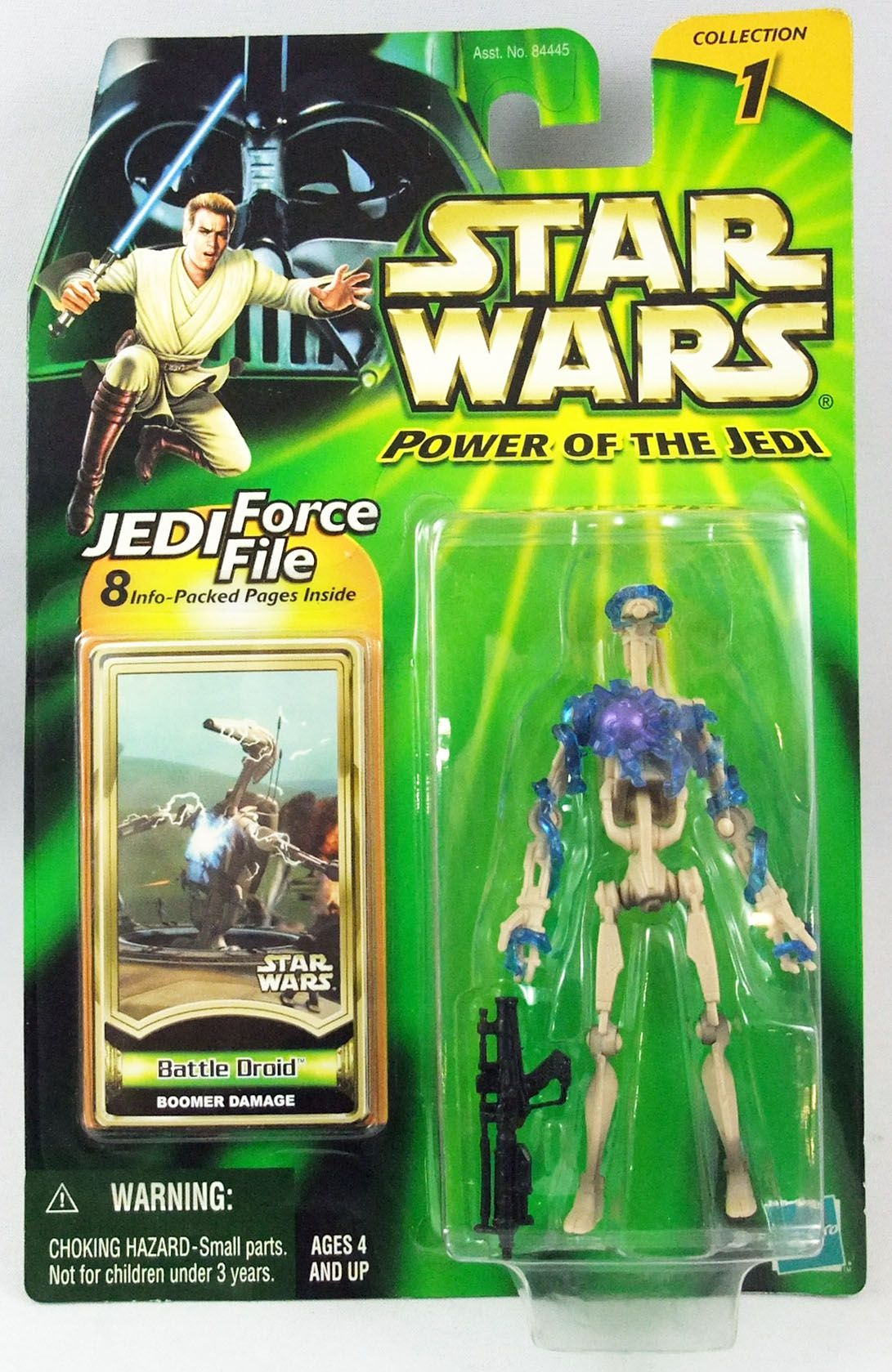 Star Wars (Power of the Jedi) - Hasbro - Battle Droid (Boomer Damage)