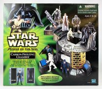 Star Wars (Power of the Jedi) - Hasbro - Carbon-Freezing Chamber (included Bespin Security Guard)