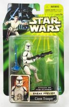 Star Wars (Power of the Jedi) - Hasbro - Clone Trooper (Sneak Preview - Attacks of the Clones)