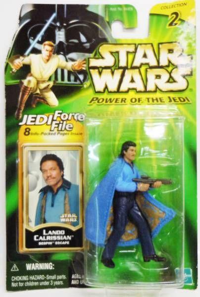 Star Wars (Power of the Jedi) - Hasbro - Lando Calrissian  (Bespin Escape)