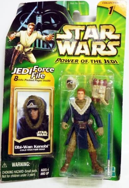 Star Wars (Power of the Jedi) - Hasbro - Obi-Wan Kenobi (Cold Weather Gear)