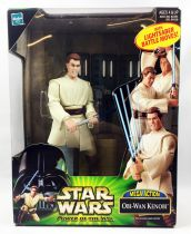 Star Wars (Power of the Jedi) - Hasbro - Obi-Wan Kenobi (Mega Action)