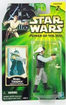 Star Wars (Power of the Jedi) - Hasbro - Rebel Trooper (Tantive IV Defender)