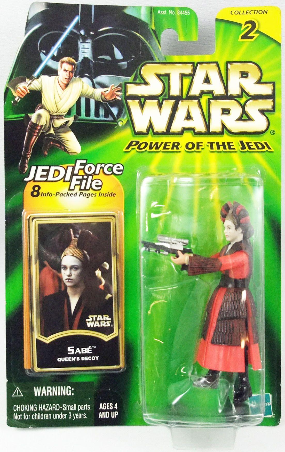 Star Wars (Power of the Jedi) - Hasbro - Sabé (Queen\'s Decoy)