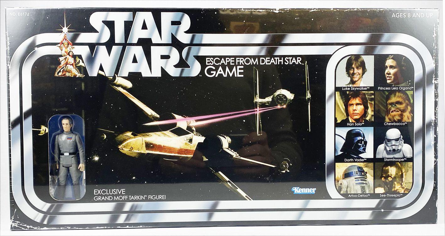 Star Wars (Retro Collection Series) - Hasbro - Grand Moff Tarkin (Exclusive) & Escape Fron Death Star Game