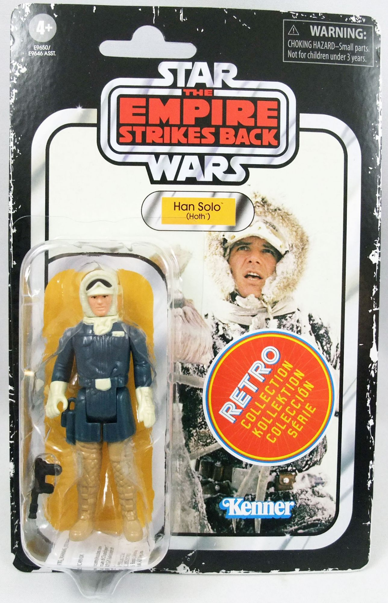 2020 Star Wars Retro Collection The Empire Strikes Back Han Solo Hoth