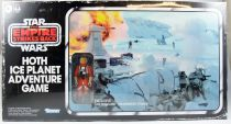 Star Wars (Retro Collection Series) - Hasbro - Luke Skywalker (Snowspeeder) & Hoth Ice Planet Adventure Game