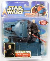 Star Wars (Saga Collection) - Hasbro - Darth Tyranus (Force-Flipping Attack)
