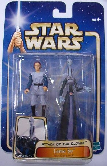 Star Wars (Saga Collection) - Hasbro - Lama Su & clone youth