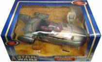 Star Wars (Saga Collection) - Hasbro - Landspeeder with Luke Skywalker