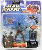 Star Wars (Saga Collection) - Hasbro - Mace Windu (with Electronic Jet Pack & Snap-On Armor)