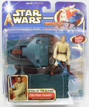 Star Wars (Saga Collection) - Hasbro - Obi-Wan Kenobi (Force-Flipping Attack)