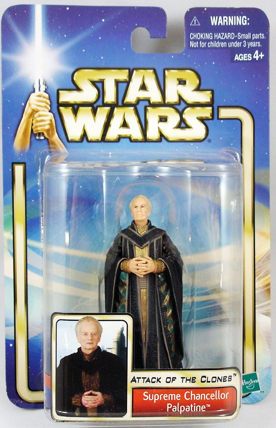 STAR WARS  Supreme Chancellor Palpatine ACTION FIGURE