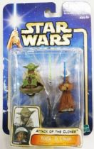 Star Wars (Saga Collection) - Hasbro - Yoda & Chian (Padawan Lightsaber Training)