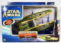 Star Wars (Saga Collection) - Hasbro - Zam Wesell Speeder with Blast-Off Panels