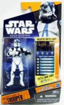 Star Wars (Saga Legends) - Hasbro - 501st Legion Trooper #SL19