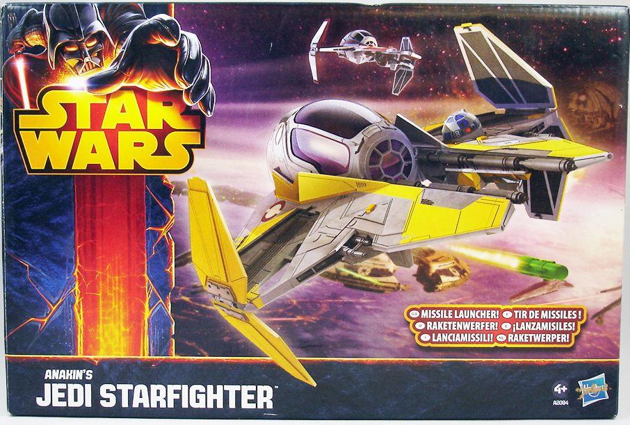 Star Wars (Saga Legends) - Hasbro - Anakin\'s Jedi Starfighter 01