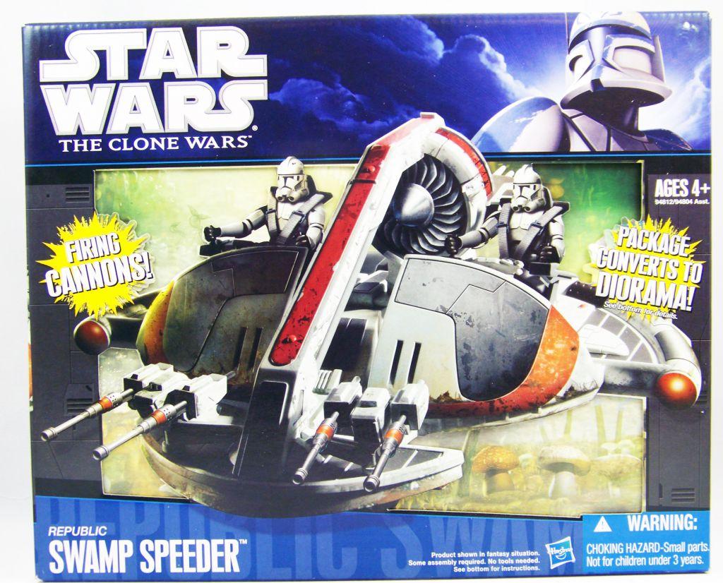 Star Wars (Saga Legends) - Hasbro - Republic Swamp Speeder (The Clone Wars)