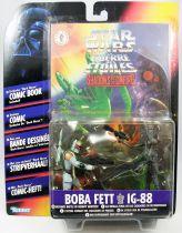 Star Wars (Shadows of the Empire) - Kenner - Boba Fett & IG-88
