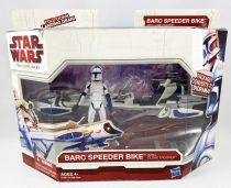 Star Wars (The Clone Wars) - Hasbro - BARC Speeder Bike with Clone Trooper