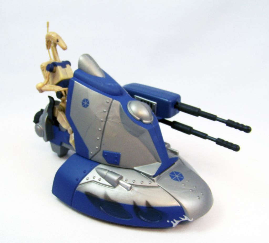 Star Wars (The Clone Wars) - Hasbro - Battle Droid & Armoured Scout Tank (occasion)