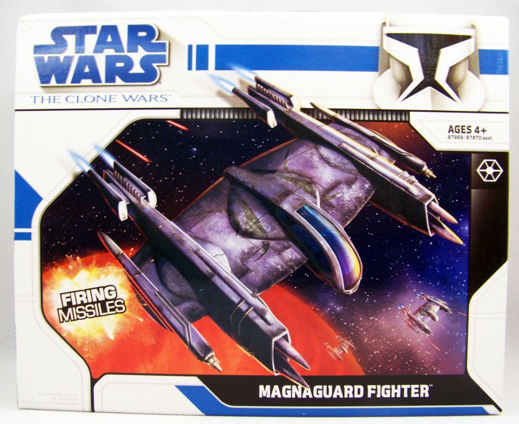 Star Wars (The Clone Wars) - Hasbro - Magnaguard Fighter