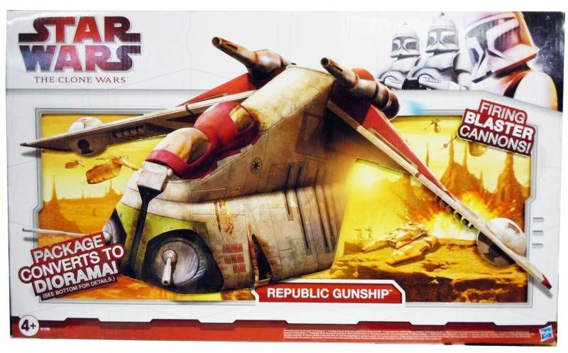 Star Wars (The Clone Wars) - Hasbro - Republic Gunship