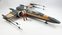 "Star Wars (The Last Jedi Collection) - Hasbro - Poe\'s Boosted X-Wing Fighter (with Poe Dameron Resistance Pilot) Toys ""R\"" Us exc"