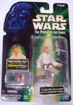 Star Wars (The Power of the Force) - Hasbro - Luke Skywalker  w/ T-16