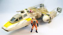 Star Wars (The Power of the Force) - Hasbro - Y-wing Fighter & Pilot (occasion)