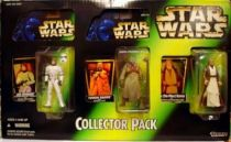 Star Wars (The Power of the Force) - Kenner - 3-pack : Luke Skywalker in Stormtrooper, Tusken Raider & ben (Obi-wan) Kenobi