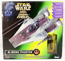 Star Wars (The Power of the Force) - Kenner - A-wing Fighter & Pilot (Boite Euro)
