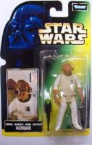 Star Wars (The Power of the Force) - Kenner - Admiral Ackbar (French Card)