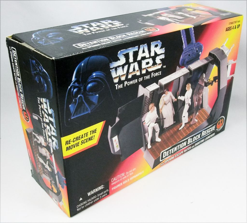 Star Wars (The Power of the Force) - Kenner - Detention Block Rescue