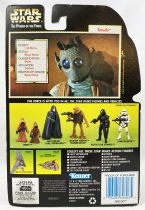 Star Wars (The Power of the Force) - Kenner - Greedo